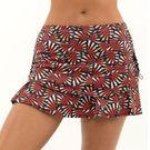 Lucky in Love Novelty Fantastic Ruche Skirt Womens Multi CB130 J49955