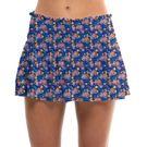 Lucky in Love Novelty Wild Flower Smock Skirt Womens Multi CB507 E72955