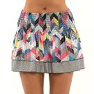 Lucky in Love Novelty Long Mix N Patch Skirt Womens Multi CB548 J46955