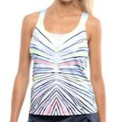 Lucky in Love Going Wild Tank Womens Graystone CT731 E42475
