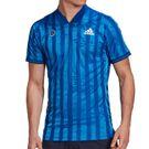 adidas Freelift Engineered Tee Shirt Mens Team Royal Blue/White FT5811