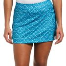Grand Slam Front Pleat Skirt Womens Mosaic Blue GSKBSB61 466