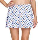 Tail Poppy Love Skyline Full Flounce 13 1/2 inch Skirt Womens Trellis TC6328 H979