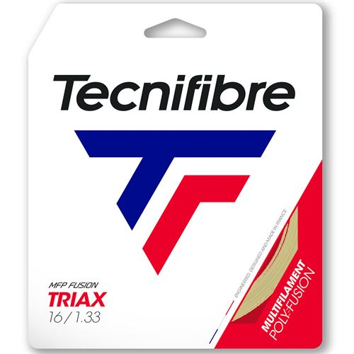 Tecnifibre Triax 16G (1.33) Tennis String - Natural
