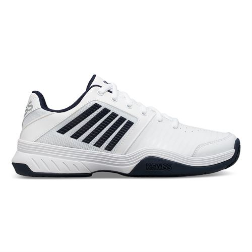 K Swiss Court Express Mens Tennis Shoe White/Navy 05443 109