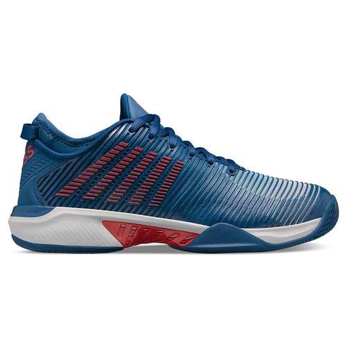 K Swiss Hypercourt Supreme Mens Tennis Shoe Dark Blue/Glacier Gray/Bittersweet 06615 049