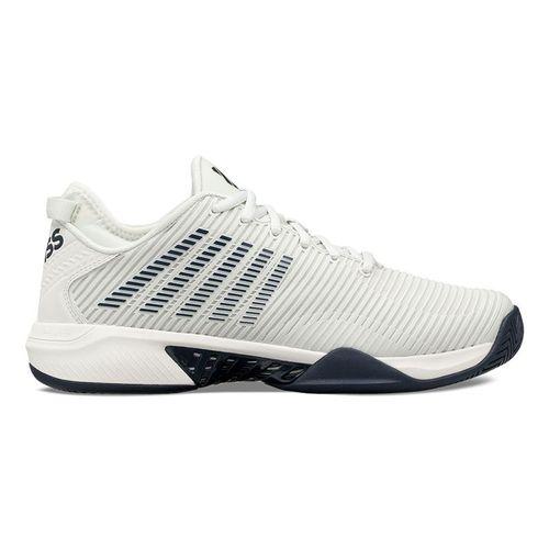 K Swiss Hypercourt Supreme Mens Tennis Shoe Barely Blue/White/Navy 06615 083