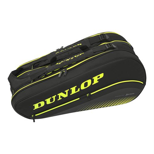 Dunlop Srixon SX Performance 8 pack Tennis Bag - Black/Yellow