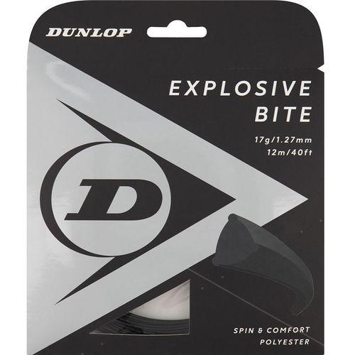 Dunlop Srixon Explosive Bite 17g Black Tennis String