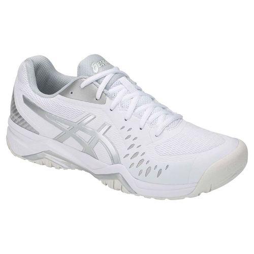 Asics Gel Challenger 12 Mens Tennis Shoe - White/Silver