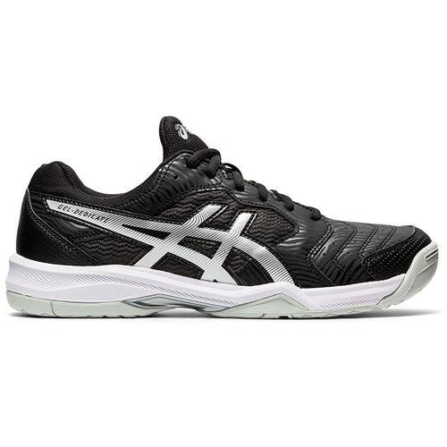 Asics Gel Dedicate 6 Mens Tennis Shoe Black/White 1041A074 002