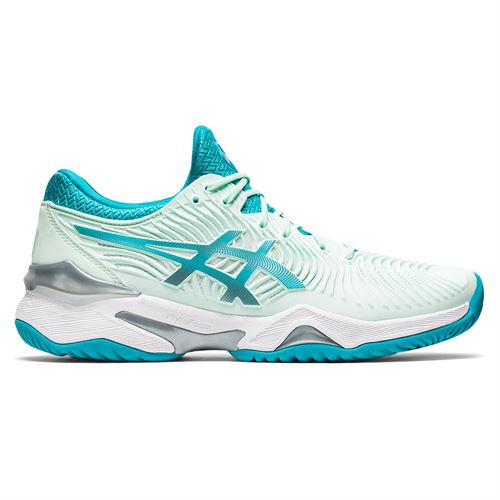Asics Court FF 2 Womens Tennis Shoe Bio Mint/Lagoon 1042A076 300
