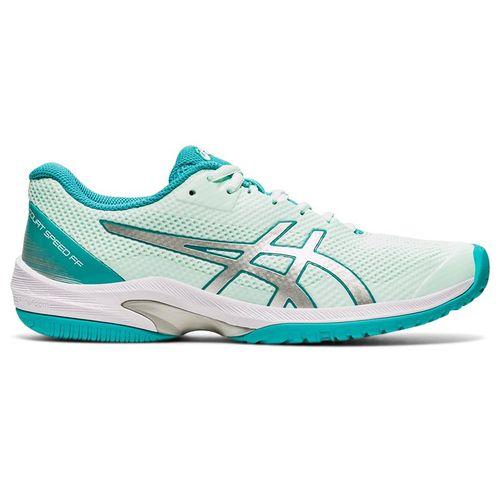 Asics Court Speed FF Womens Tennis Shoe Bio Mint/Pure Silver 1042A080 301