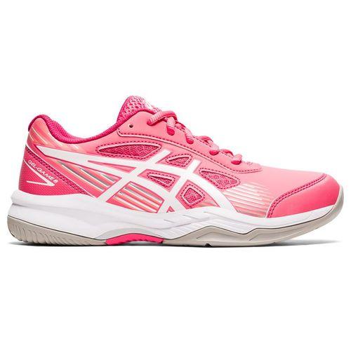Asics Junior Gel Game 8 GS Tennis Shoe Pink Cameo/White 1044A025 700