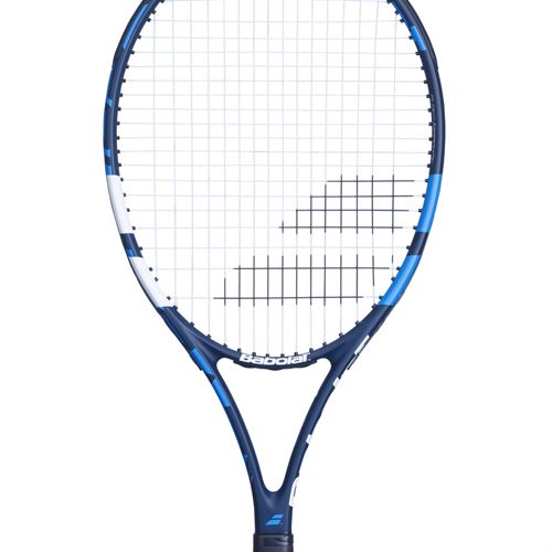 Babolat Evoke 105 Tennis Racquet (Prestrung) Black/Blue 121202