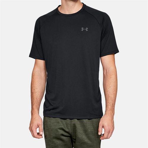 Under Armour Tech 2.0 Tee Shirt Mens Black/Graphite 1326413 001
