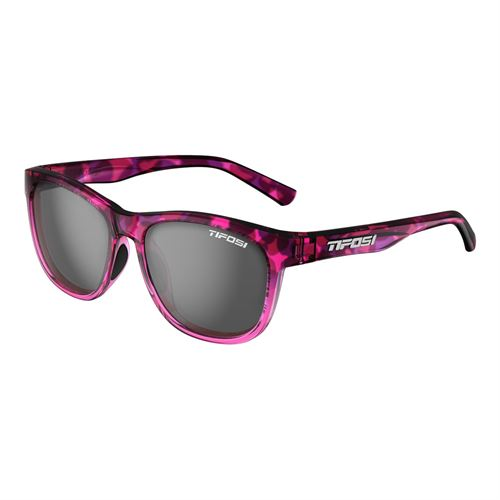 Tifosi Swank Sunglasses - Pink Confetti/Smoke