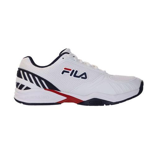 Fila Volley Zone Mens Pickleball Shoe - White/Navy