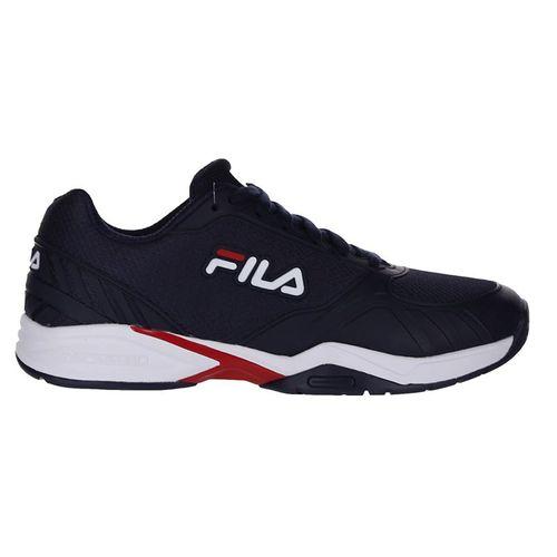 Fila Volley Zone Mens Pickleball Shoe - Navy/Red/White