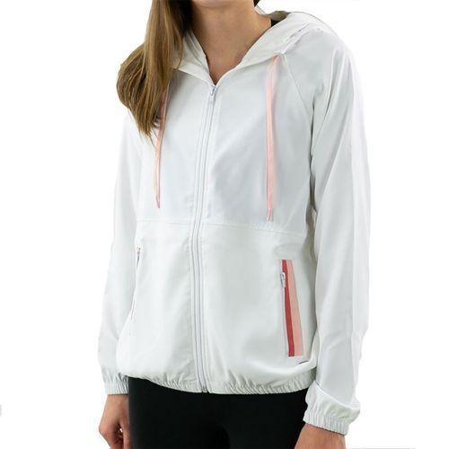 Lija Cosmos Cyclone Jacket Womens White/Multi 20S 6518T3