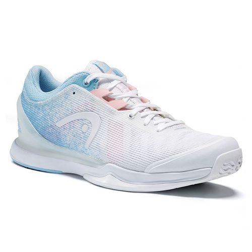 Head Sprint Pro 3.0 Womens Tennis Shoe White/Light Blue 274041