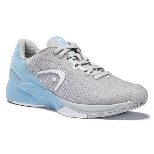 Head Revolt Pro 3.5 Womens Tennis Shoe Grey/Light Blue 274121