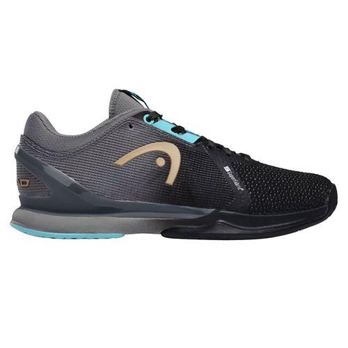 Head Sprint Pro 3.0 Superfabric Womens Tennis Shoe Black/Blue 274960