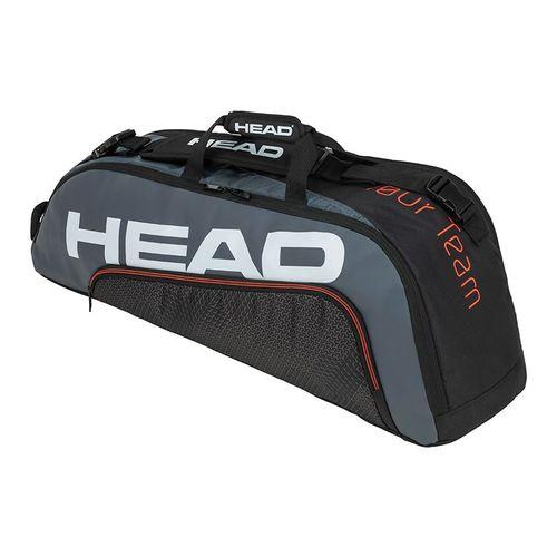 Head Tour Team 6 Racquet Combi Tennis Bag - Black/Grey
