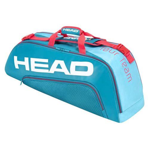 Head Tour Team 6 Racquet Combi Tennis Bag - Blue/Pink