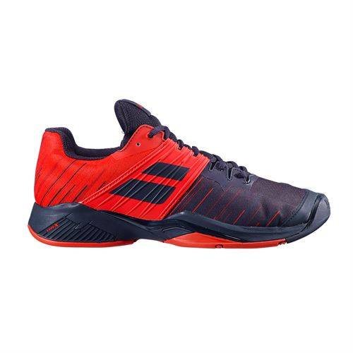 Babolat Propulse Fury All Court Mens Tennis Shoe Black/Tomato Red 30S20208 2019