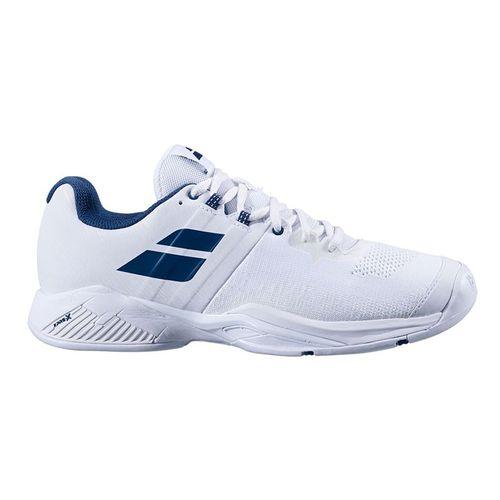 Babolat Propulse Blast All Court Mens Tennis Shoe White/Estate Blue 30S20442 1005