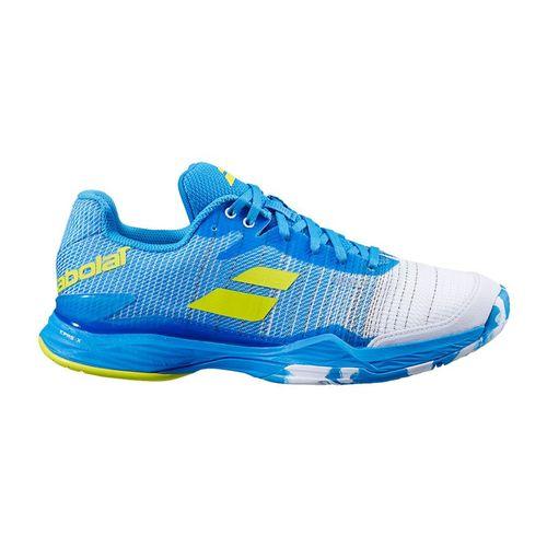 Babolat Jet Mach II All Court Mens Tennis Shoe Malibu Blue 30S20629 4062