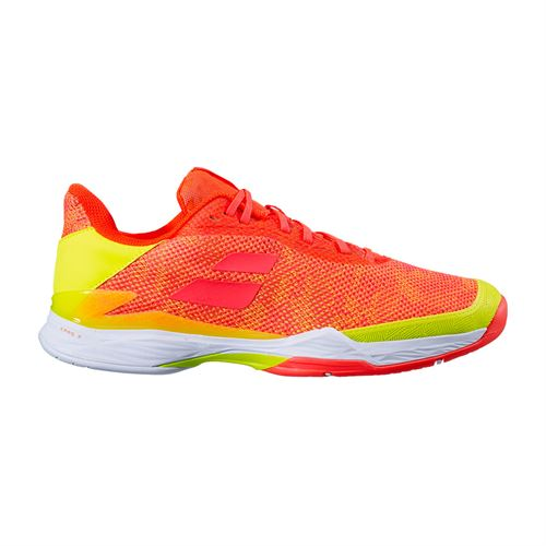 Babolat Jet Tere All Court Mens Tennis Shoe Fluo Strike/Fluo Yellow 30S20649 6011