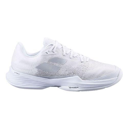 Babolat Jet Mach 3 All Court Men Tennis Shoe White/Silver 30S21629 1019