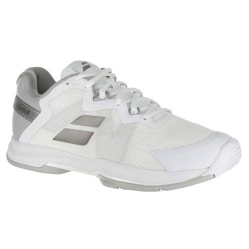 Babolat SFX 3 All Court Womens Tennis Shoe - White/Silver