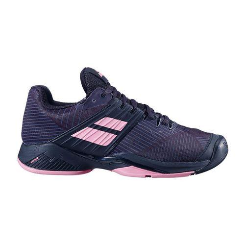 Babolat Propulse Fury All Court Womens Tennis Shoe Black/Geranium Pink 31S20477 2014