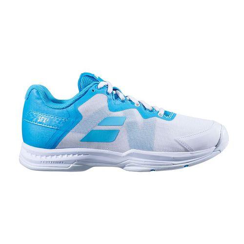 Babolat All Court SFX3 Womens Tennis Shoe Scuba Blue 31S20530 4070