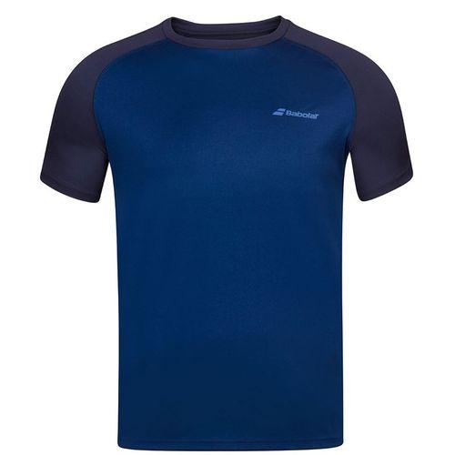 Babolat Play Crew Shirt Mens Navy Blue