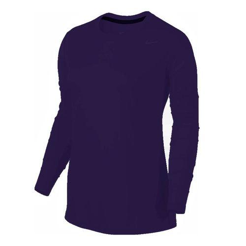 Nike Team Legend Long Sleeve - Purple/Cool Grey
