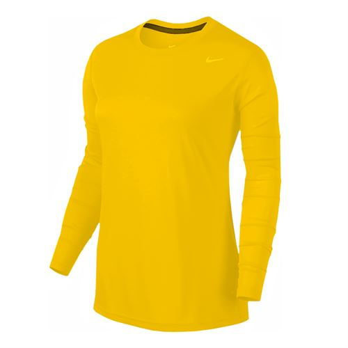 Nike Team Legend Long Sleeve - Bright Gold/Cool Grey