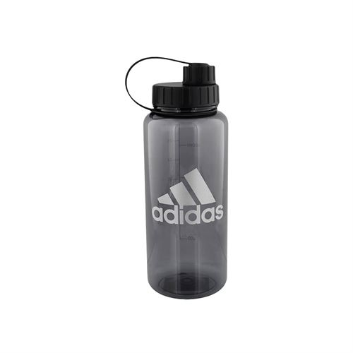 adidas All Around 1L Plastic Water Bottle - Onix/Silver