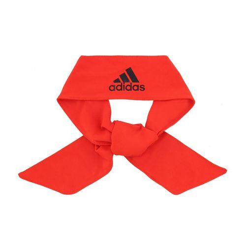 adidas Alphaskin Tie Headband - Red/Black