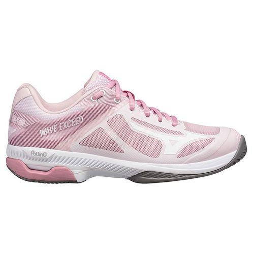 Mizuno Wave Exceed SL AC Womens Tennis Shoe Pink/White 550028 1300