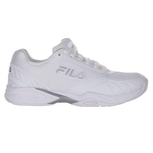 Fila Volley Zone Womens Pickleball Shoe - White/Silver