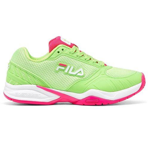 Fila Volley Zone Womens Pickleball Shoe Green/Pink 5PM00595 327û