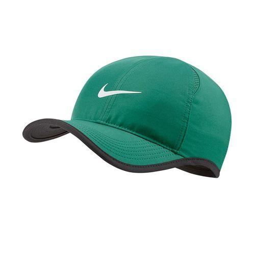 Nike Court Aerobill Feather Light Hat - Neptune Green/Black/White