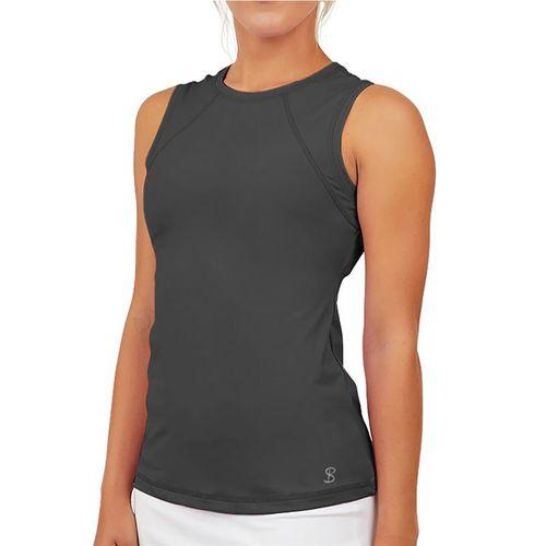 Sofibella UV Sleeveless Tank Womens Grey 7003 GRY