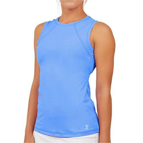 Sofibella UV Sleeveless Tank Womens Valley Blue 7003 VBL