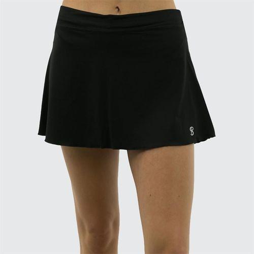 Sofibella Plus Size 13 Inch Skirt - Black