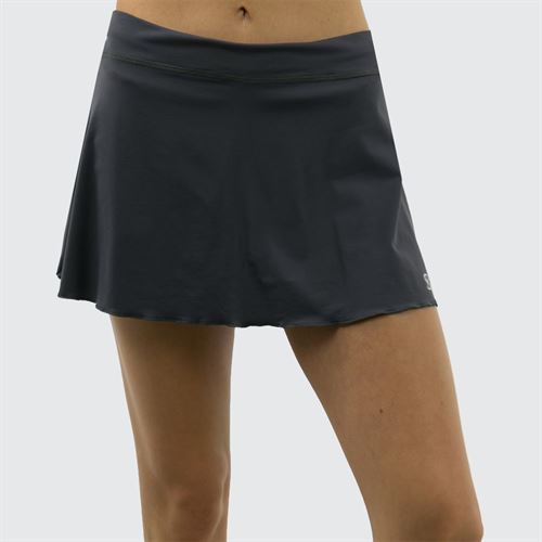 Sofibella Plus Size 13 Inch Skirt - Grey